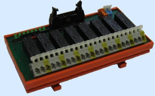AmR01 – Module of 8 relays