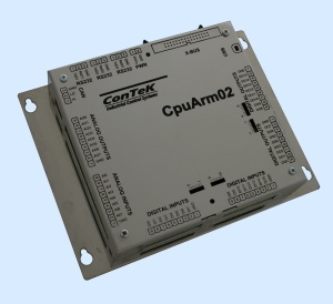 CpuArm02 – Processor board with ARM7 55 MHz