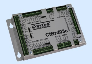 CtBrd03c – Processor unit with ARM Cortex-M4 120 MHz